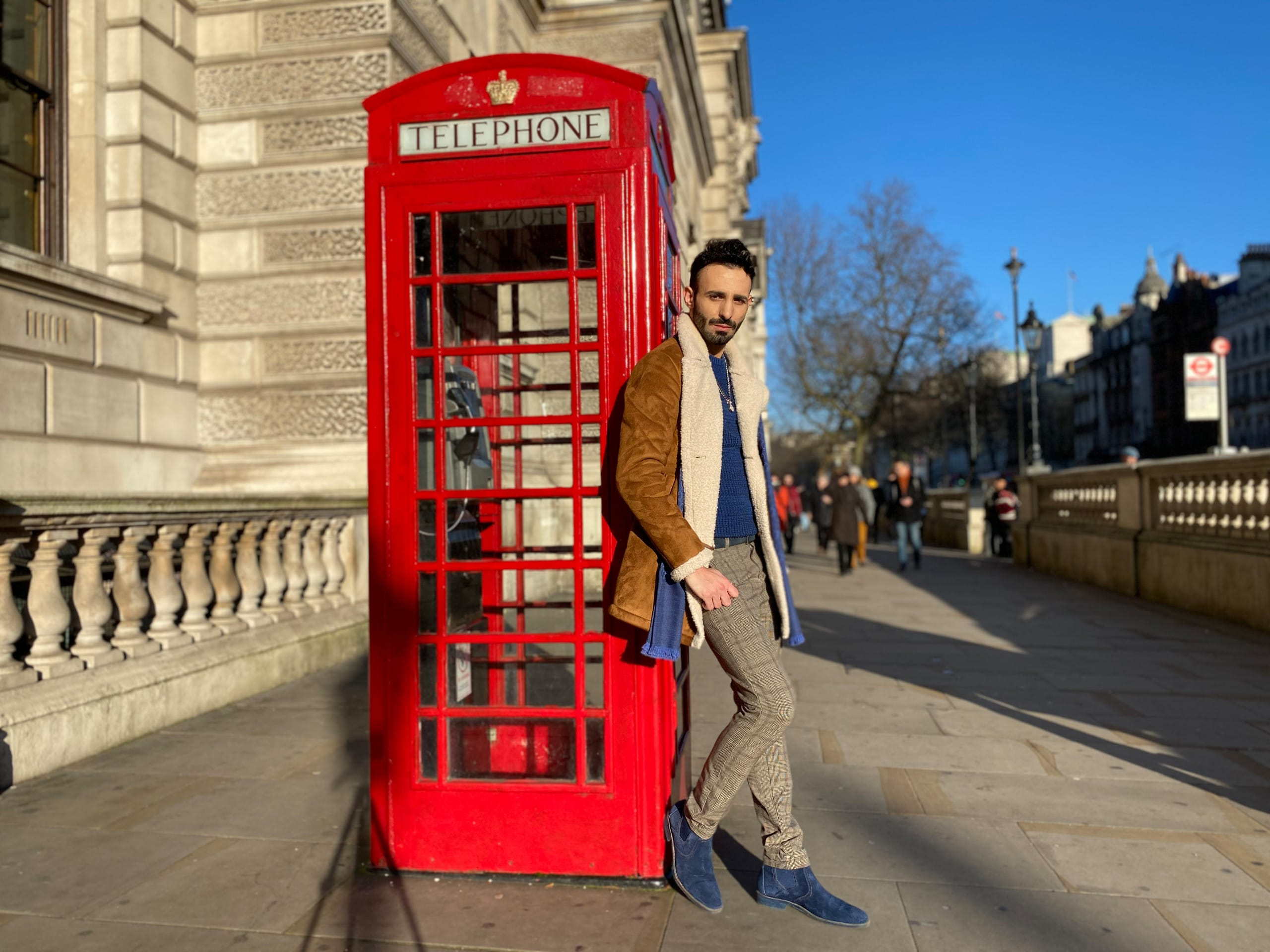 London Male Winter Fashion 1